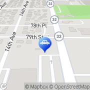 Map Auto World Kenosha, United States