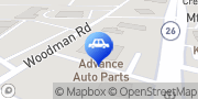 Map Advance Auto Parts Janesville, United States