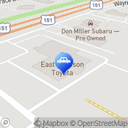 Map East Madison Toyota Service Department Madison, United States