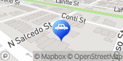Map Carquest Auto Parts New Orleans, United States
