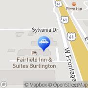 Map Car-Mart of Burlington Burlington, United States