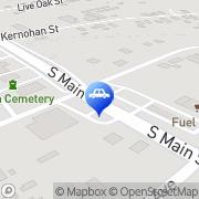 Map Crosbys Car Care Crosby, United States