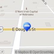 Map Draeger, Inc. O'Neill, United States