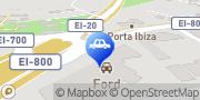 Map Talaia Motor Ibiza Town, Spain