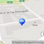 Map Pitiusas Cars Ibiza Town, Spain