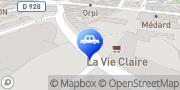 Carte de Parking Indigo Mantes-La-Jolie Normandie Mantes-la-Jolie, France
