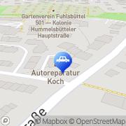 Karte W + A Koch GmbH Hamburg, Deutschland