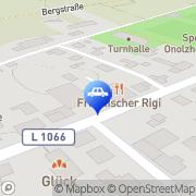 Karte Auto-Kilzer Crailsheim, Deutschland