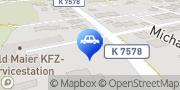 Karte KS AUTOGLAS ZENTRUM Kirchdorf an der Iller Kirchdorf an der Iller, Deutschland