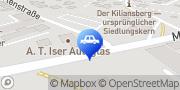 Karte Wintec Autoglas A.T. Iser - Schweinfurt Schweinfurt, Deutschland