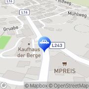 Karte Strigl Harry Kfz-Werkstätte Arzl im Pitztal, Österreich