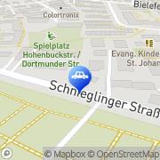 Karte Cuntz Autotechnik GmbH Nürnberg, Deutschland