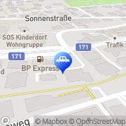 Karte FASTBOX Autoservice Innsbruck, Österreich