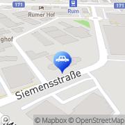 Karte Auto & Motorrad Center Hofer Rum, Österreich