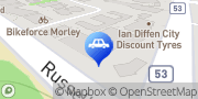 Map Bob Jane T-Marts Morley, Australia