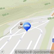 Karte OMV Tankstelle Angath, Österreich