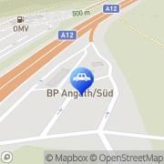 Karte BP Tankstelle Angath, Österreich