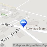 Karte Autohaus Graml Nittenau, Deutschland