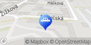 Map Autoškola Cheb - Dubjak Cheb, Czech Republic