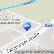 Karte Berauer GmbH Sankt Johann in Tirol, Österreich