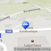 Karte Prostis Autoboutique Mittersill, Österreich