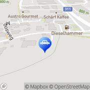 Karte Tankstelle DieselHammer Trading Maishofen, Österreich