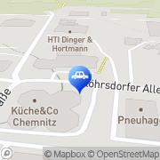 Karte Autohaus Liebhaber Chemnitz, Deutschland