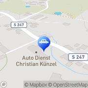 Karte ad AUTO DIENST Künzel Königshain-Wiederau, Deutschland