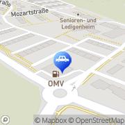 Karte OMV Tankstelle Braunau am Inn, Österreich