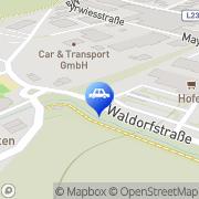 Karte CONTIPARK Parkplatz Hallwang-Mayrwies Salzburg, Österreich