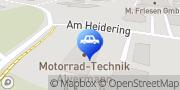 Karte Motorrad-Technik Alvermann & Appelt GbR Oranienburg, Deutschland
