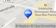 Karte junited AUTOGLAS Riesa Riesa, Deutschland