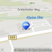Karte PNEUMOBIL GRAFENAU Grafenau, Deutschland