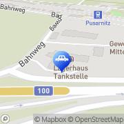 Karte UNSER LAGERHAUS - Tankstelle Pusarnitz Lurnfeld, Österreich