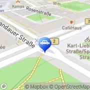 Karte Mietwagen Preisvergleich - Cars-scanner.de Berlin, Deutschland