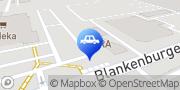 Karte RENAULT RETAIL GROUP BERLIN Pankow Berlin, Deutschland