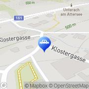 Karte AVANTI Tankstelle Unterach, Österreich
