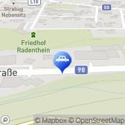 Karte Eni Tankstelle Radenthein, Österreich
