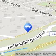 Karta Byholma Reparationsverkstad Ljungby, Sverige