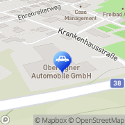 Karte Oberaigner Automobile GmbH Rohrbach, Österreich
