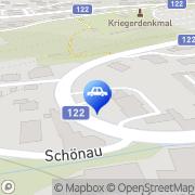 Karte Shell Tankstelle Kremsmünster, Österreich