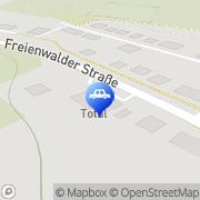 Karte Total Station Dirk Strobel Wriezen, Deutschland