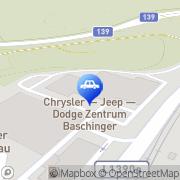 Karte JET Tankstelle Leonding, Österreich