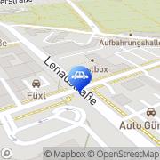 Karte MOL Tankstelle Linz, Österreich