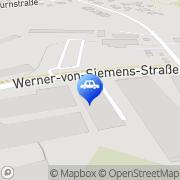 Karte Wintec Autoglas Cottbus Cottbus, Deutschland