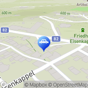 Karte Eni Tankstelle Bad Eisenkappel, Österreich