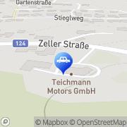Karte Teichmann Motors Tragwein, Österreich
