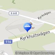 Karta Qstar Fridafors Ryd, Sverige