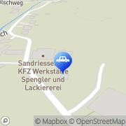 Karte Sandriesser Obdach, Österreich