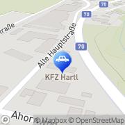 Karte Hartl Willibald - KFZ Hartl Griffen, Österreich